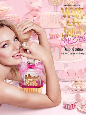 Juicy Couture Viva La Juicy Sucre Perfume Ad