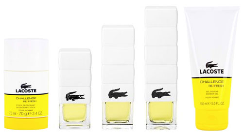 lacoste challenge re fresh fragrances perfumes colognes parfums scents resource guide the. Black Bedroom Furniture Sets. Home Design Ideas