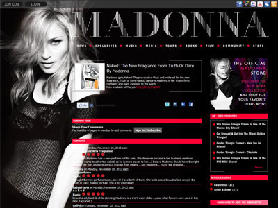 Madonna Truth Or Dare Naked Fragrances