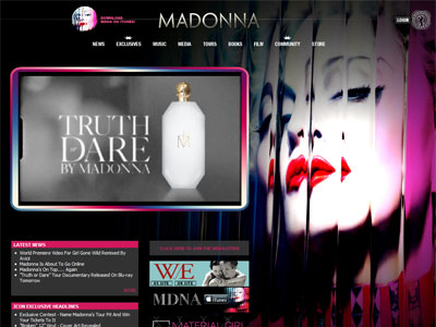 Madonna Truth Or Dare Fragrances Perfumes Colognes