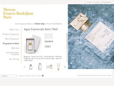 Maison francis kurkdjian aqua universalis forte fragrances for Aqua universalis forte maison francis kurkdjian