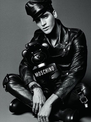 Moschino Toy Boy ad Jhona Burjack