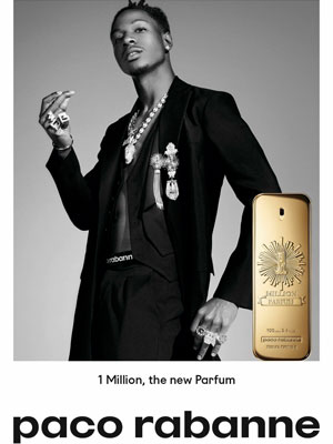 Paco Rabanne 1 Million Parfum Joey Bada$$ Ad
