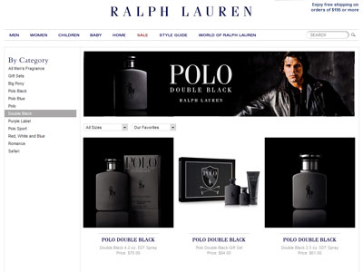 ralph lauren polo double black cologne a woody fragrance. Black Bedroom Furniture Sets. Home Design Ideas
