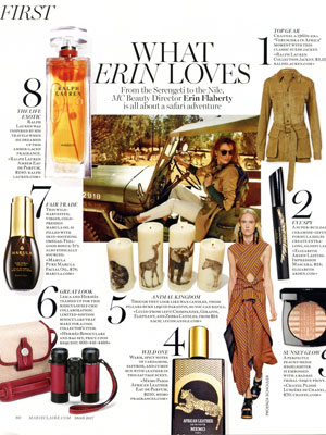 Ralph Lauren Amber Fragrance Editorials