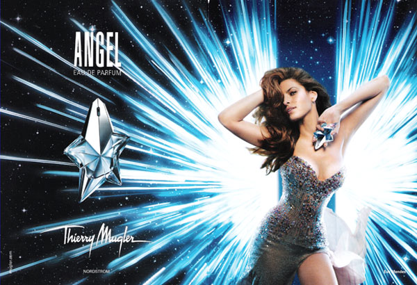 Eva Mendes Thierry Mugler Angel perfume celebrity endorsements