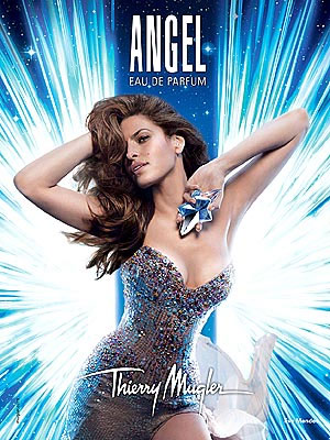 Evan Mendes Thierry Mugler Angel perfume celebrity endorsements