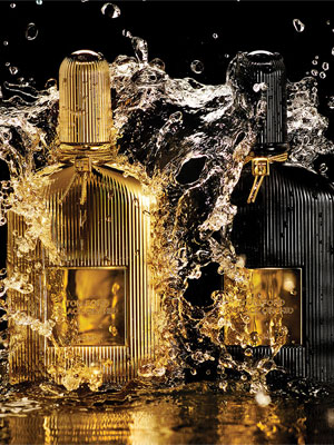 Tom Ford Black Orchid Parfum ads