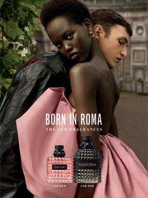 Valentino Born in Roma Ad