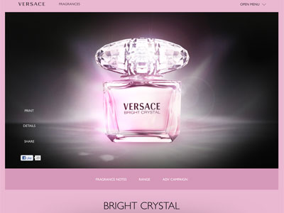 Bright Crystal Fragrances Perfumes Colognes Parfums
