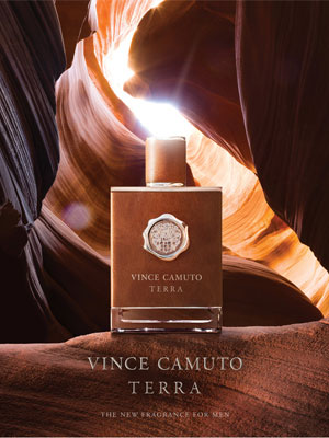 Vince Camuto Terra Fragrance Ad