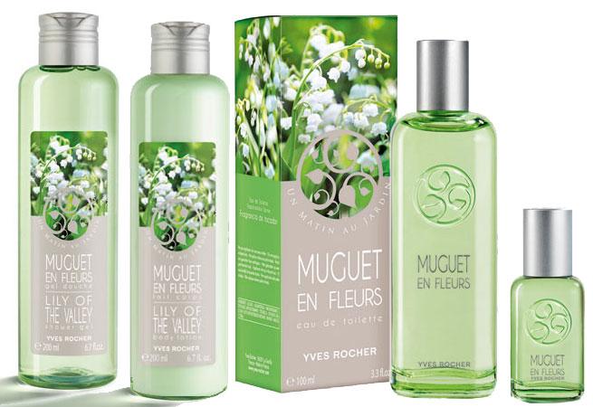 yves rocher muguet en fleurs perfume a floral green fragrance for women. Black Bedroom Furniture Sets. Home Design Ideas