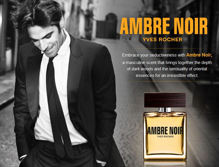 Yves Rocher Ambre Noir Cologne A Woody Oriental Fragrance