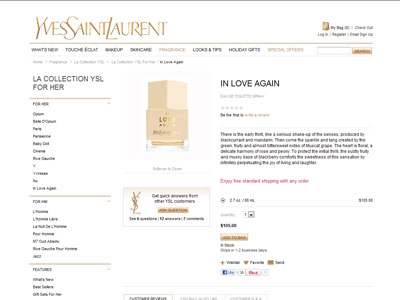 yves saint laurent patent leather bag - Yves Saint Laurent In Love Again perfume fruity floral fragrance ...