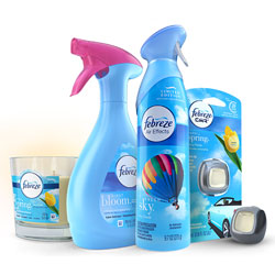 Febreze Spring Fragrances