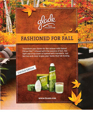 Glade Fall Collection Home Fragrances Candles Air