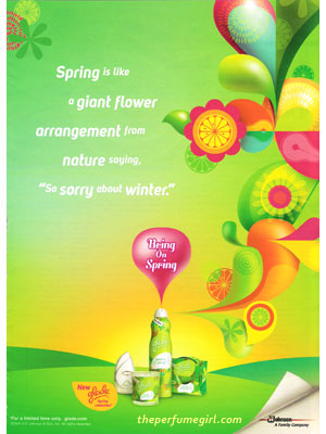 Sparkle of Spring Glade fragrances