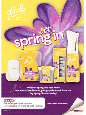 Glade Spring fragrances