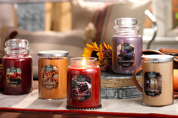 Yankee Candle Farmer's Market Collection home fragrances