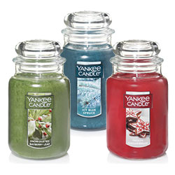 Yankee Candle Holiday Fragrances