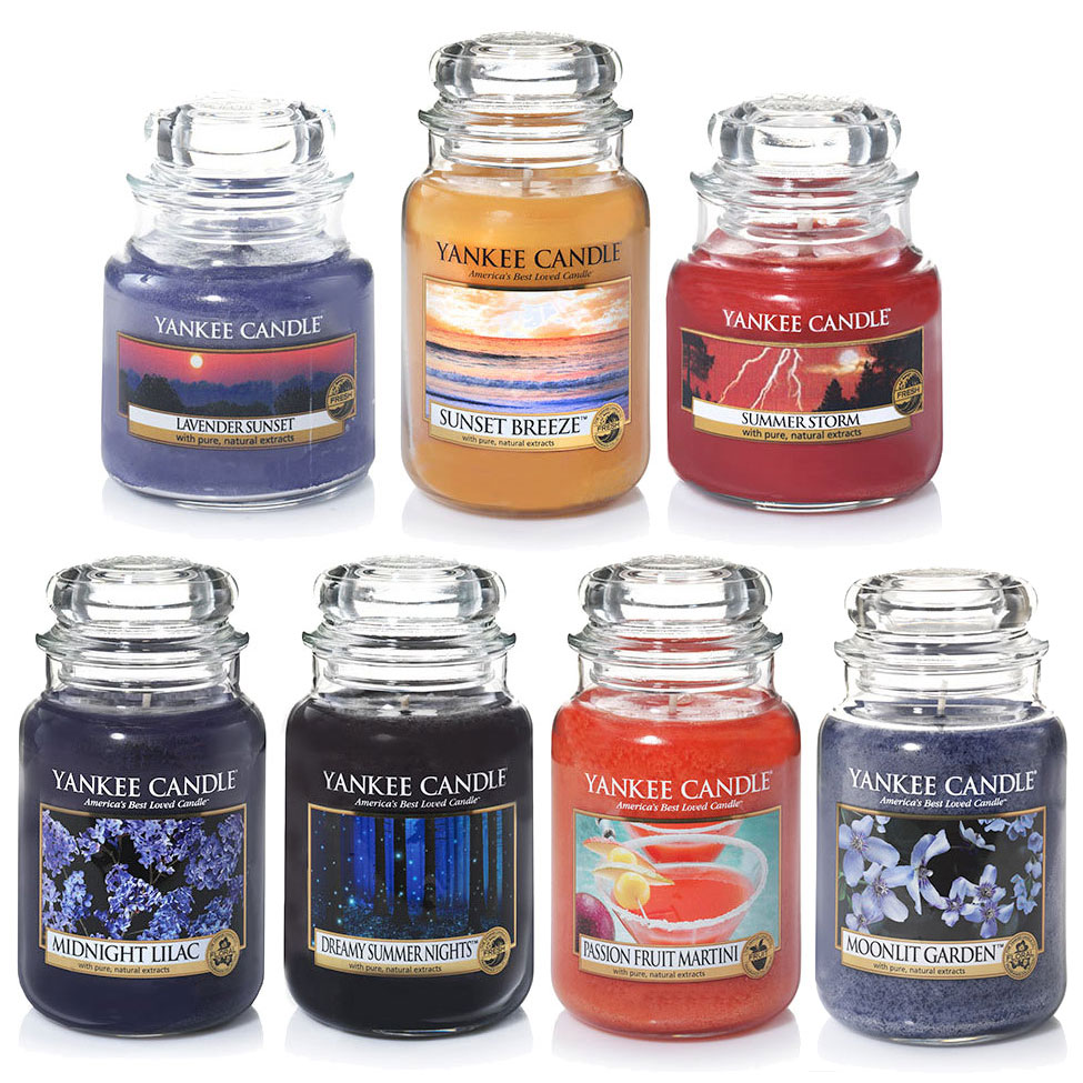 Yankee Candle Summer Fragrances 2016