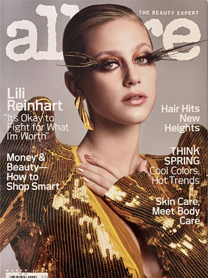 Allure Lili Reinhart March 2020