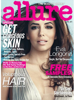 Allure, April 2011, Eva Longoria