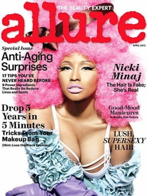 Allure, April 2012, Nicki Minaj