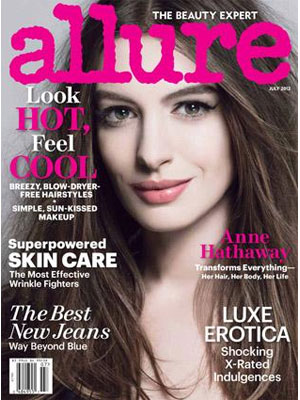 Anne Hathaway, Allure Magazine, July 2012