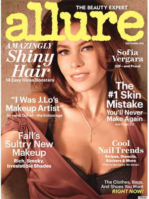Allure, September 2012, Sofia Vergara