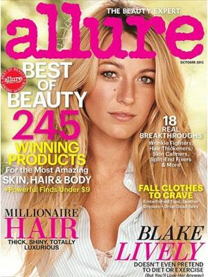 Blake Lively, Allure Magazine, October 2012