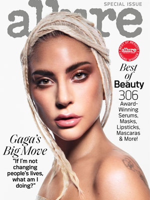 Allure Lady Gaga October 2019