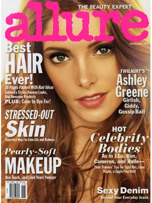 Allure, November 2011, Ashley Greene