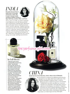 Jo Malone Red Roses Cologne Perfume editorial Allure Culture of Fragrance