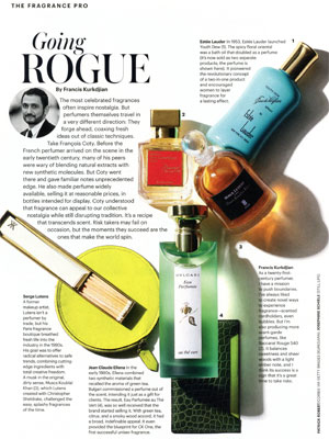 Coty Perfume editorial Allure Going Rogue