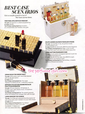 Louis Vuitton Les Parfums Perfume editorial Allure Phenomenon Fragrances