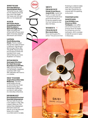 Giorgio Armani Acqua di Gio Perfume editorial Allure Beauty Awards