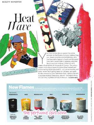 Summertime Candles - Allure June 2016