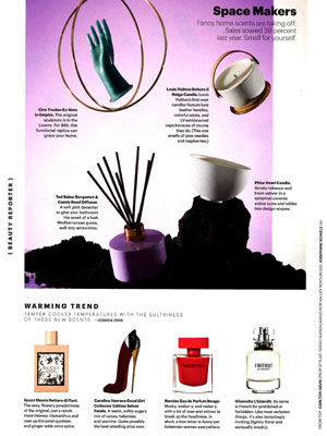 Allure Perfume Warming Trend Editorial