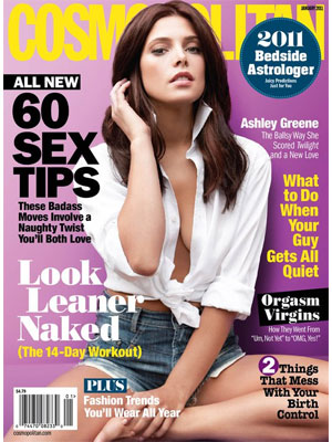 Cosmopolitan, January 2011 - Ashley Greene