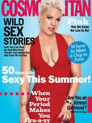 Pink, Cosmopolitan Magazine, June 2012