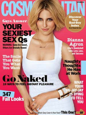Cosmopolitan, September 2011, Dianna Argon