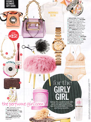 Clinique Happy Perfume editorial Cosmo Gift Guide
