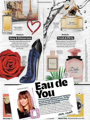 Eau de You - Cosmopolitan April 2018