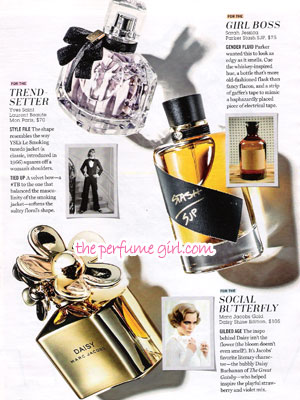 Sarah Jessica Parker Stash SJP Perfume editorial Cosmo Message in a Bottle