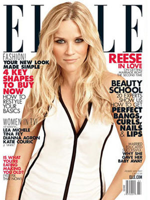 Elle, February 2012, Reese Witherspoon