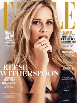 Elle Reese Witherspoon February 2017
