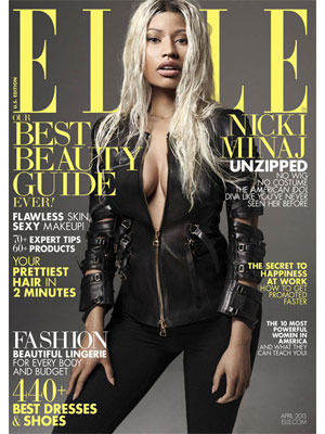 Elle April 2013 Nicki Minaj
