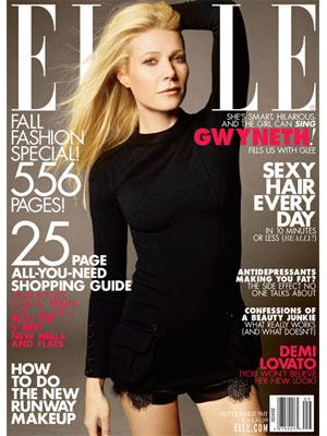 Elle, September 2011, Gwyneth Paltrow