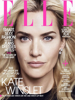 Kate Winslet Elle Magazine November 2015
